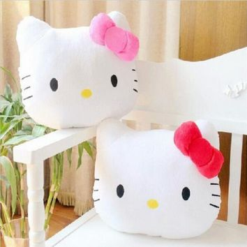 1Pc 40cm Cute Lovely Juguetes Pillow Soft Stuffed Hello Kitty Pusheen Plush Toys Cushion Soft Toy For Kid Girl's Gifts