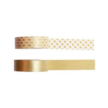 Gold Washi Tape - Set Of Two