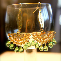 Green and Serene Earring