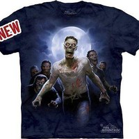 The Mountain Zombie Horde Adult T-shirt
