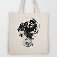 ✖ ソウルメイト (¯`v´¯)`.¸.´Soul Mates.¸.`۶ Tote Bag by Rouble Rust | Society6