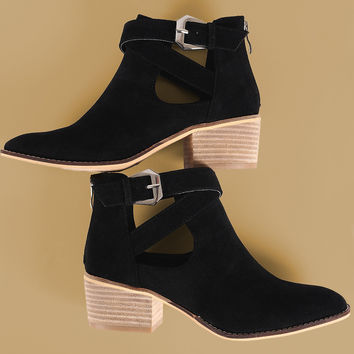 Buckled Strap Ankle Boots | UrbanOG