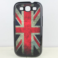 Retro British national flag Hard Case Cover for Samsung Galaxy S3 i9300