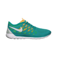 Nike Free 5.0 Women's Running Shoes - Turbo Green