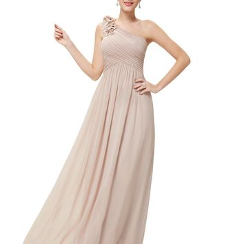 Women's Elegant Bridesmaid Dress - Clearance Sale - Free Shiping