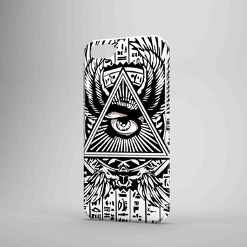 Illuminati Egyptian Triangle Logo iPhone 5 Case