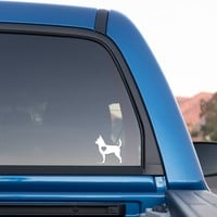 Chihuahua Love Sticker for Cars and Trucks