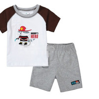 Mommy's Little Hero Shirt and Shorts Outfit