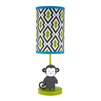 Happy Chic by Jonathan Adler Safari Monkey Table Lamp (Grey)