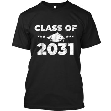 Class of 2031  Grow With Me First Day of School  Custom Ultra Cotton