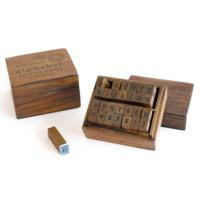 Lowercase Alphabets Stamp Set