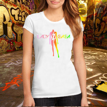 Lady Gaga T Shirt Printed T Shirt, Women T Shirt, (Various Color Available)