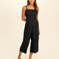 Girls Crop Wide-Leg Jumpsuit | Girls Dresses & Rompers | HollisterCo.com