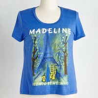 Out of Print Short Sleeves Novel Tee in Madeline - Plus