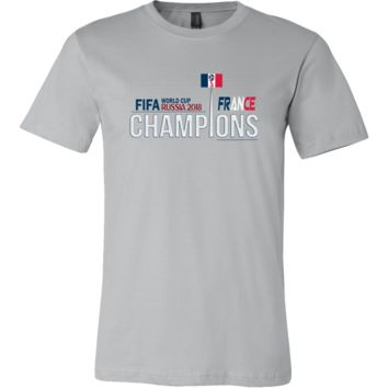 FIFA World Cup 2018 Champions France Mens Shirt (14 Colors)