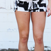All In Abstract Shorts