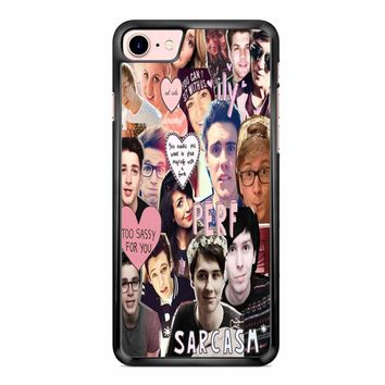 Youtuber Collage 1 iPhone 7 Case