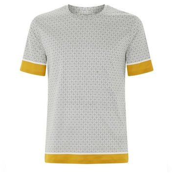 Golden Geo Print T-Shirt by Burberry