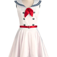 Ahoy, Lovely! Dress | Mod Retro Vintage Dresses | ModCloth.com