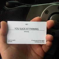 You Suck At Parking Cards - $25