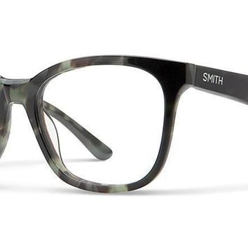 Smith Optics - Lightheart 52mm Camo Tortoise Eyeglasses / Demo Lenses