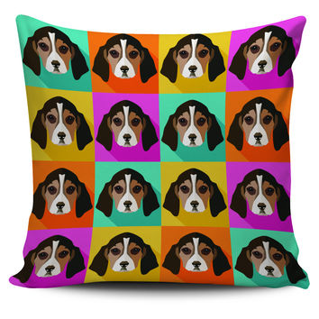 beagles Clipart Pillowcase