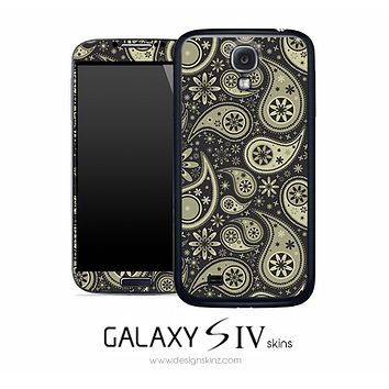 Dark Bandana Skin for the Galaxy S4