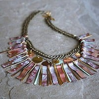 Sibilia  Ramses Patina Collar at Free People Clothing Boutique