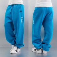 Dangerous DNGRS Soft Dream Leila Ladys Logo Sweat Pants Turqoise von Def-Shop.com