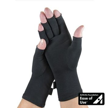 Arthritis Compression Gloves in Black