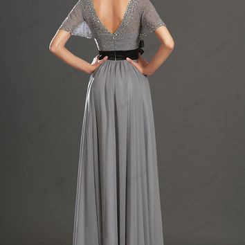 Elegant Long Prom Dresses Special Occasion Dresses Party Gown Evening Dress = 4769395204
