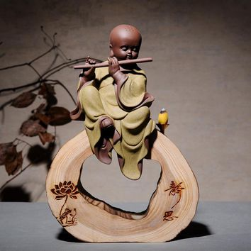 The Damour Monk - Incense Burner Holder