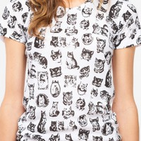 Pretty Snake / Cute Kitty Tee