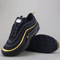 Trendsetter Nike Air Max 97 Og Qs  Women Men Fashion Casual Sneakers Sport Shoes