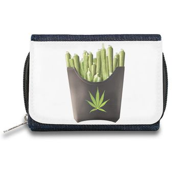 Dope Pot Fries Box  Zipper Wallet| The Stylish Pouch To Keep Everything Organized| Ideal For Everyday Use & Traveling| Authentic Accessories By Styleart