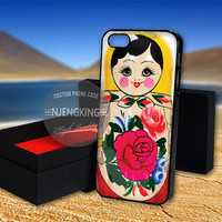 Russian doll matryoshka case for  LG Nexus/HTC One/Samsung Galaxy S3,S4,S5/Note 2,3/iPod 4th 5th/iPhone 5,5s,5c,4,4s,6,6+[ NJ9 ]