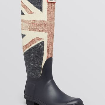 Hunter Rainboots - British Flag | Bloomingdale's