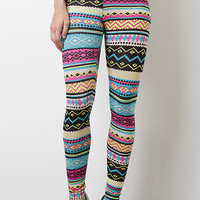 Colorful Pattern Leggings