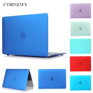 Frosted Surface Matte Hard Cover Case For Macbook Air 13 11 Pro 15 13 with Retina 15 13 Laptop case for Macbook 13 inch Cases