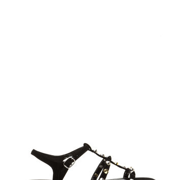 Rock Steady Strappy Studded Sandals
