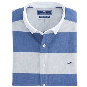 Millrace Stripe Slim Whale Shirt