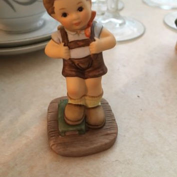Hummel Goebel Boys Figurine I Did It- Exclusive Edition-