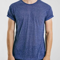 Navy Neppy Roller Fit T-Shirt