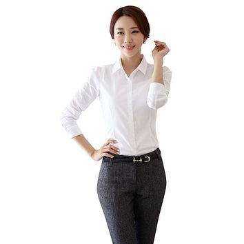 Cotton Sleeveless Button Down Shirts For Women