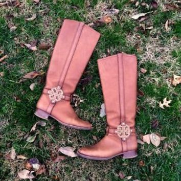 Tory Burch Amanda Riding Boot Size 7 Rare