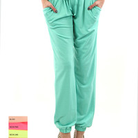 Blush Track Pants (Shown in Mint)
