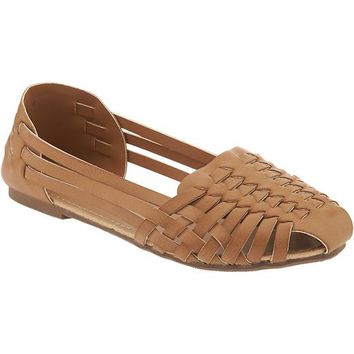Old Navy Girls Huarache Flats