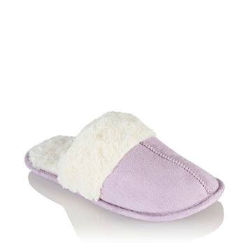 mule slippers women george at asda from. Black Bedroom Furniture Sets. Home Design Ideas