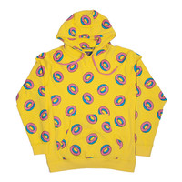 ALLOVER DONUT HOODIE YELLOW – Odd Future