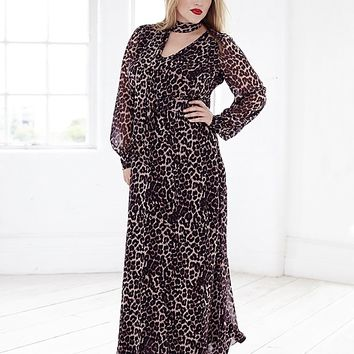 Jj Print Maxi Dress | SimplyBe US Site